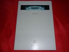 MERCEDES W220 S-Klasse S 320 CDI S 320 S 430 S 500 S 600 Hardcover Prospekt 1999