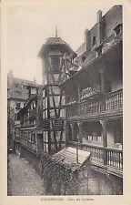 Carte postale-Strasburgo/Strasbourg-Cour du Corbeau