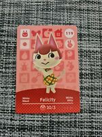 🍃🍃 Animal Crossing Amiibo Card Series 2 🍃🍃 NEW - Felicity 119