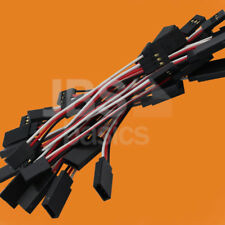 10 Pcs. 150mm 15cm Servo Extension Cable for Bruder RC Conversion Digger Tractor