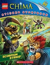 NEW LEGO Legends of Chima Scorpion Strike!  Sticker Storybook Ships Free