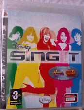"JEU PS3 "" Sing It "" (Hannah Montana Et Camp Rock) NEUF SOUS BLISTER"