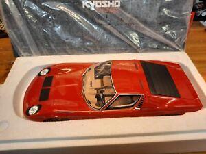 Kyosho Lamborghini Miura P400 S rossa red 1/12 KSR12501R