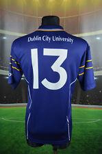 UCD DUBLIN UNIVERSITY #13 GAA GAELIC SHIRT (L 4/5) IRELAND JERSEY TOP MATCH WORN