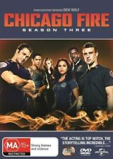 CHICAGO FIRE (COMPLETE SEASON 3 - DVD SET SEALED + FREE POST)