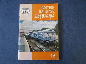 abc British Railways Electrics. 1960. No underlining / markings. Ian Allan.