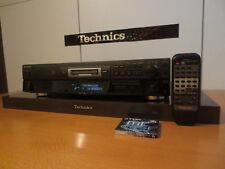 Technics SJ-MD100 MD MiniDISC PLAYER & RECORDER  mit FB & 1 NEUE TDK MD & KABEL