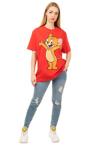 RRP €235 ETRO TOM AND JERRY Oversized T-Shirt Top Size L Maxi 'Jerry' Print