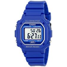Casio Men's Digital Blue Resin Strap Watch F108WH-2A