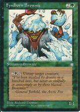 4x Fyndhorn Brownie/fyndhornwirsch | Ice Age | NM/EX | Magic MTG