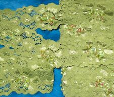 """15 yards 1 3/8"""" width light green front side with pearls and beaded scroll trims"""