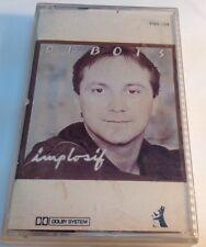 CLAUDE DUBOIS Original Tape Cassette IMPLOSIF 1983 les Disques Pingouin