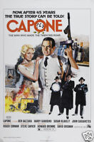 Capone Ben Gazzara vintage movie poster print