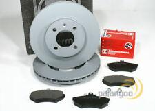 Renault Megane- Zimmermann Bremsscheiben Bremsbeläge für vorne Vorderachse