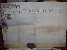 ZAMBECCARI Laurea di Polum Zambeccaris  Diploma dell' Università di Bologna 1581
