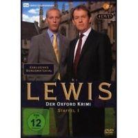 LEWIS: DER OXFORD KRIMI - STAFFEL 1 4 DVD NEU