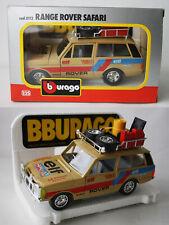 RARE VINTAGE 80'S BBURAGO RANGE ROVER SAFARI 1:25 0112 ITALY NEW NOS !