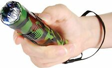 BASHLITE CAMO 15 Million Volt Flashlight Stun Gun Self Defense Security Camping