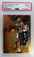 1996 Pacific Collection Kobe Bryant #PP-6, Gold Rookie RC, PSA 9, None Higher !$