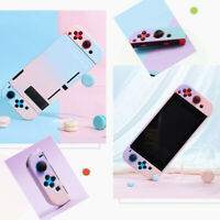 For Nintendo Switch Console Jon-Con Gradient Hard Case Cover Snap on Case Access