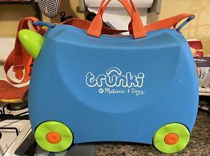 Trunki Melissa & Doug Ride-On Suitcase Kids Wheeled Hardcase Lockable Luggage