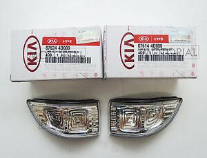 2009-2014 KIA SEDONA CANIVAL OEM LED Mirror Repeater Lamp 2EA 1Set