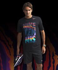 Nike Tennis 2012 Roger Federer 'Flame Pack' T-Shirt - Size M *Super Rare*
