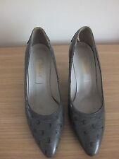 Womens Grey Bally Court Shoe Size 5
