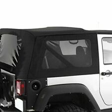 Smittybilt 9075235 - Diamond Black OEM Replacement Soft Top with Tinted Windows
