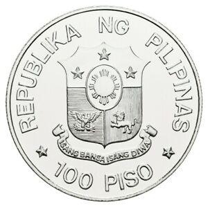 Philippinen 100 Piso 1983 75. Jahrestag der Universität PP Gewicht: 25g/500