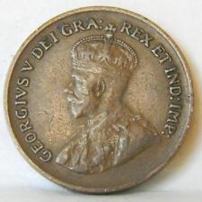 CANADA George V 1932 bronze Cent small cent; attractive XF+ brown
