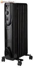 Oil Filled Radiator Heater w/3 Heat Settings+Wheels Warms up Medium/Large Rooms