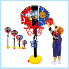 Children's Basketball Hoop Board Adjustable Sports Exercise Toy brain game Gifts