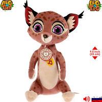 Yara Leo & Tig Russian Talking Soft Toys Stuffed Animals Original Licensed