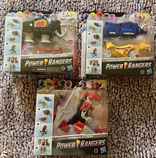 MMPR Mighty Morphin HASBRO Dinozords MEGAZORD 2020 Power Rangers Set - 3 Toy Lot
