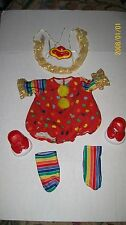 CABBAGE PATCH KIDS clown outfit   DOLL CLOTHES,  w/shoes complete 000