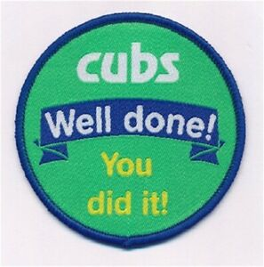 Cub Scouts Well Done Fun Badge. OFFICIAL SUPPLIER