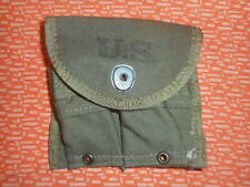 U.S.ARMY: WWII ,1 SEPARATE MAGAZINE POUCH ,DOUBLE,WEB,CARBINE,Cal.30 M-1