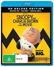 Snoopy And Charlie Brown : The Peanuts Movie 3D : NEW Blu-Ray 3D