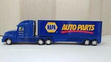 Vintage Very Rare Blue Nylint Napa Auto Parts Semi Tractor Trailer Truck! NICE!
