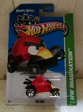 Hot Wheels ANGRY BIRDS RED - Rojo - BLISTER USA - TV Series
