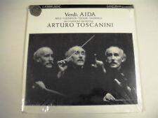 VERDI AIDA NBC Symphony Orchestra Arturo Toscanini LD New In Foil