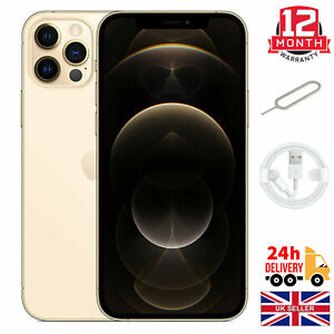 2021 NEW Apple iPhone 12 Pro  512GB  Gold (Unlocked)