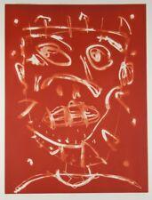 David LARWILL 'Trip' ORIGINAL etching - RARE SMALL EDITION - ROAR artist - RED