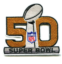 2014 SEASON NFL CHAMPIONSHIP 02.07.2016 BAY AREA SUPER BOWL 50 PATCH 2nd Design