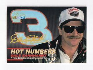 1996 Flair HOT NUMBERS #1 Dale Earnhardt Sr. SWEET & SCARCE!