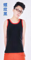 Whorl Weave Les Lesbian Tomboy Chest Binder Undershirt Slim Fit Vest Tops XS-XXL