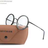 Retro Vintage Round Mens Womens Eyeglasses Frame Spectacles Clear Lens Glasses