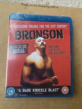 Bronson (2008) Blu Ray NEW & SEALED Tom Hardy Crime Thriller