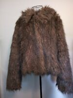 RED OR DEAD faux Fur Jacket Size 14. Smart Casual Beautiful